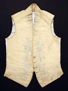 Waistcoat, 1800-1850, American or European