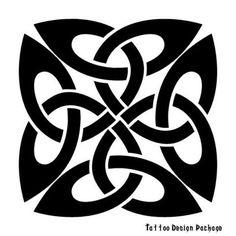 Кельтский узел - схема для станочного ткачества