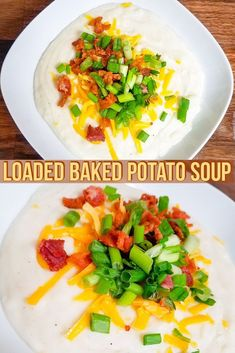 Loaded Baked Potato Soup is so amazing and simple to make!!! Fall is upon us and it is time for all the broths, stews and soups my body can handle. This simple recipe will have dinner on the table in no time!!!!