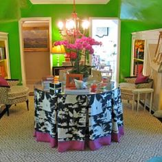 Chinoiserie Chic: Trending - The Skirted Table & Chinoiserie