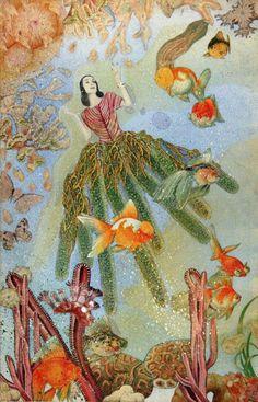 Joseph Cornell, Untitled (Marine Fantasy with Tamara Toumanova), Early 1940s  Collage