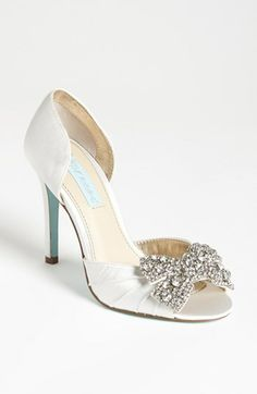 Blue by Betsey Johnson 'Gown' Sandal available at #Nordstrom @Salvatrice Manuele DiFresco