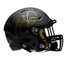 The helmet for Saturday? Iowa Hawkeye Football, Raiders Football, Iowa Hawkeyes, Alabama Football, Nfl Football Players, Nfl Football Teams, Football Memes, Cool Football Helmets, Football Helmet Design