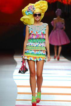 Agatha Ruiz de la Prada S/S 11 Madrid - the Fashion Spot