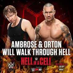 Dean Ambrose & Randy Orton, Hell In A Cell 2015