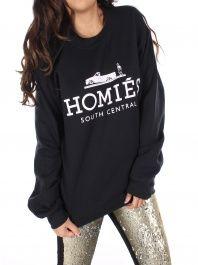 cca20627c1a Brian Lichtenberg - Black Homies Sweatshirt Winter Clothes
