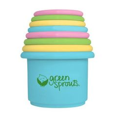 Baby Bathing/grooming one Size,... High Quality Green Sprouts Sprout Ware Stacking Cups Made From Plants Baby