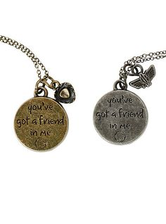 Disney Toy Story Best Friends Necklace Set | Hot Topic