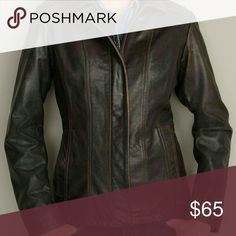 ⚡ Flash sale⚡Leather Eddie Bauer coat Pit to pit is 22 1/2 inches, it is 29 inches long neck to bottom, and shoulder to wrist is 24 inches. The shell is a genuine leather with an insulated lining. This is a beautiful heavy coat in great condition no rips or tears everything intact. Eddie Bauer Jackets & Coats