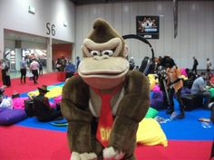 Donkey Kong by Awinnerwasyou on DeviantArt Paper Mario, Mario Kart, My Cousin, Donkey Kong Costume, Bean Bag Chair, Halloween Costumes, Cosplay, Deviantart, Costume Ideas