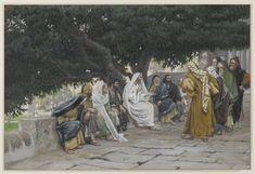 The Pharisees and the Saduccees Come to Tempt Jesus (Les pharisiens et les saducéens viennent pour tenter Jésus) : James Tissot : Free Download & Streaming : Internet Archive