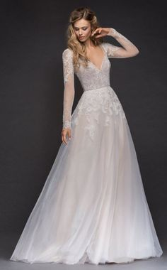 Courtesy of Hayley Paige wedding dresses; www.jlmcouture.com/boutique/hayley-paige #weddingdress