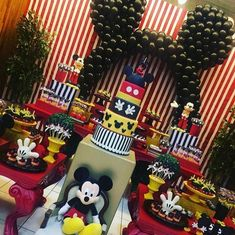 Créditos: @evertonolivsantana Festa Mickey Mouse Mickey Mouse Party Decorations, 1st Birthday Decorations, Mickey Mouse Parties, 1st Birthday Themes, Festa Mickey Baby, Theme Mickey, Mickeys Christmas Party, Mickey Christmas, Mickey Mouse Clubhouse Birthday