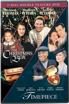 The Christmas Box and Timepiece - two of the best Chistmas movies ever by Hallmark!
