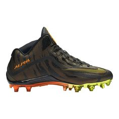 reputable site 78e7b db5aa Nike Men's Alpha Pro 2 Three-Quarter TD LE 2.0 Mid Football Cleats - Black