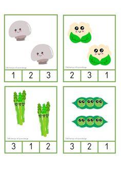 Crafts For Kids, Math, Counting, Cards, Vegetables, Google, Vegetable Gardening, Preschool, Crafts For Children
