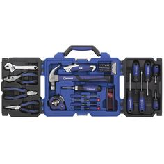 Shop Kobalt 69-Piece Household Tool ith Hard Case at Lowes.com