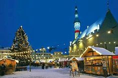 Estonia  Christmas market