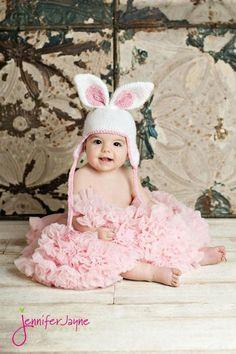 Easter bunny crochet hat - Free Pattern