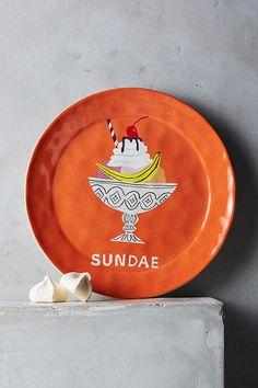 Slide View: 1: Pictoral Dessert Plate