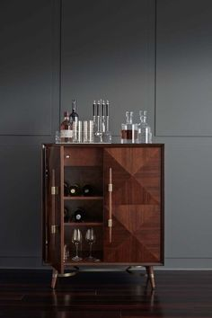"Exceptional ""bar furniture cabinet"" detail is available on our internet site. Check it out and you wont be sorry you did. Home Bar Furniture, Deco Furniture, Cabinet Furniture, Furniture Ideas, Wine Furniture, Cheap Furniture, Home Bar Cabinet, Drinks Cabinet, Liquor Cabinet"