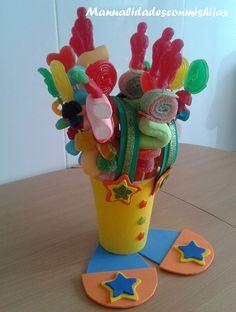 4 Ideas para Fiestas con foamy, goma eva | DIY | | Aprender manualidades es facilisimo.com