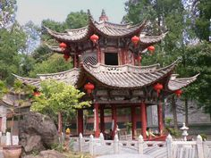 Small buddhist temple in China...