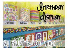 Todos los alumnos pueden brillar: Aula Decoración y organización