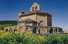 arquitectura romanica en Navarra, Espana. Santa María de Eunate #Navarra #Romanico