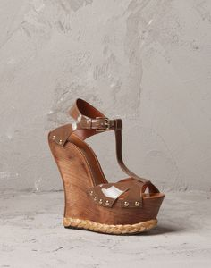 PATENT LEATHER TAORMINA WEDGE | Dolce&Gabbana Online Store