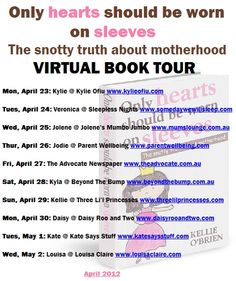 Virtual book tour for Only Hearts Should Be Worn On Sleeves Sleepless Nights, Self, Parenting, Tours, How To Get, Reading, Reading Books, Childcare, Natural Parenting