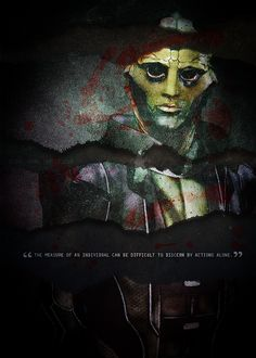 Thane: The measure of an individual can be difficult to discern by actions alone. #masseffect