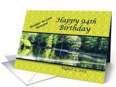 Custom 94th Birthday Card