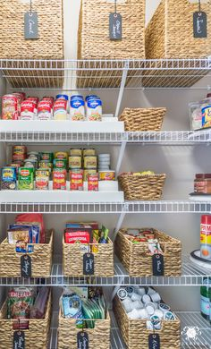 Pantry organization solutions and what to clean out #organization #pantryorganization #pantry