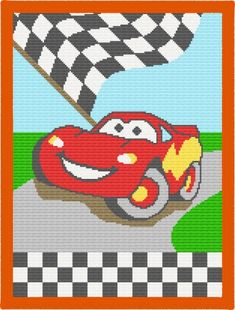 Cars crochet pattern