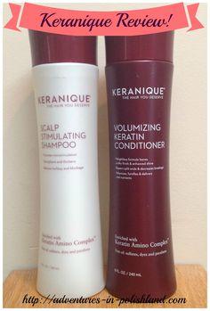 Keranique Clean & Condition Set Review | #KeraniqueHair