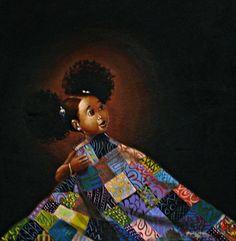 Natural Hair Art by Frank Morrison Natural Hair Art, Pelo Natural, Natural Beauty, African American Artwork, African Art, Caricatures, Frank Morrison Art, Black Artwork, Black Women Art