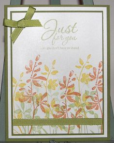 Just For You by klikes - Cards and Paper Crafts at Splitcoaststampers