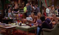 The Central Perk Couch on 'Friends' Was Always Unoccupied For a Reason You Never Noticed — PHOTOS | Bustle