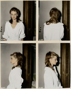 Audrey Hepburn makeup and hair test for Breakfast At Tiffany's