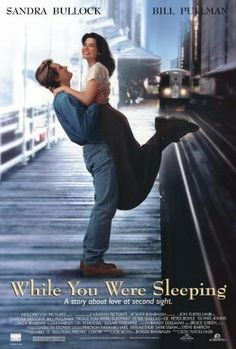 While You Were Sleeping (1995) Best Romantic Comedies, Romantic Comedy Movies, Romance Movies, Most Romantic Hollywood Movies, Drama Movies, Movie Poster Frames, Movie Posters, Caravan Pictures, Best Rom Coms