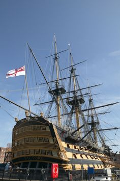The HMS Victory at Portsmouth's Historic Dockyard is one of NH's most popular tourist attractions. HMS Victory currently resides in Portsmouth, where she has been since 1922, having undergone a series of restorations. Portsmouth's Historic Dockyard is also home to the HMS Warrior and the Mary Rose.