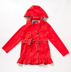 Big Girl Evie's Trench Jacket - Kids' Spring Outerwear - Events