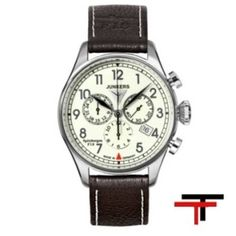 Handsome men's watch of Spitzbergen series with quartz movement (Ronda Swiss Technology) with special Junkers crown. Now in Your Original Junkers Shop. Skagen, Fossil, Zeppelin, Watch Brands, Watches For Men, Wrist Watches, Fashion Watches, Chronograph, Apple Watch