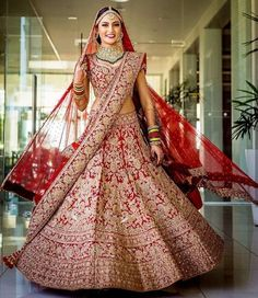 Weddings Discover Indian Lehenga Choli Designs Bridal Wear Bollywood New Costume Lengha Blouse Set Indian Lehenga Indian Wedding Lehenga Bridal Lehenga Choli Bridal Lehnga Red Bridal Lenghas Lehenga Skirt Bridal Gowns Wedding Gowns Indian Bridal Outfits