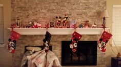 Our Disney stockings are hung by the chimney with care. . .are yours?