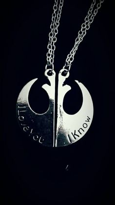 Hey, I found this really awesome Etsy listing at https://www.etsy.com/uk/listing/252668695/star-wars-i-love-you-i-know-couples