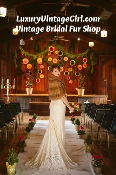 Winter Wedding Fur, Winter Wedding Bridesmaids, Winter Bride, Winter Wonderland Wedding, Fall Wedding, Vintage Fur, Vintage Bridal, Vintage Glamour, Wedding Dresses