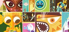 Pixar animator Sanjay Patel's The Big Poster Book of Hindu Deities