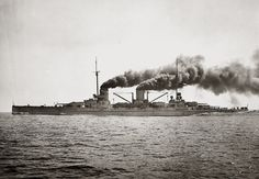 The High Seas Fleet (Hochseeflotte) was the battle fleet of the German Imperial Navy and saw action during World War I. The formation was created in February 1907, when the Home Fleet (Heimatflotte) was renamed as the High Seas Fleet. Admiral Alfred von Tirpitz was the architect of the fleet; he envisioned a force powerful enough to challenge the Royal Navy's predominance.